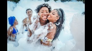 EPIC SURPRISE FOAM PARTY!!!!