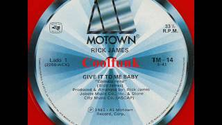 "Rick James - Give It To Me Baby (12"" Disco-Funk 1981)"