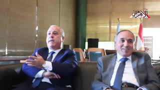كلمة رئيس الهيئة الوطنية للصحافة خلال جولته بمؤسسة الأهرام لتدشين وافتتاح المواقع الجديدة