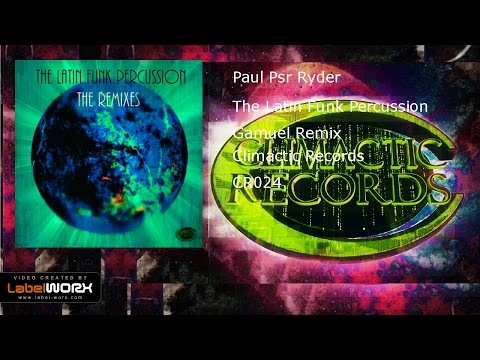 Paul Psr Ryder - The Latin Funk Percussion (Gamuel Remix)