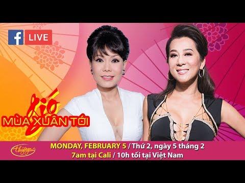 Livestream with Kỳ Duyên & Việt Hương - Feb 5, 2018