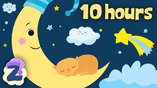 The Cradle Song 💤🍼10 Hours Non Stop 🎵Baby Lullabies & Relaxing Bedtime Music 🎵by Zouzounia TV