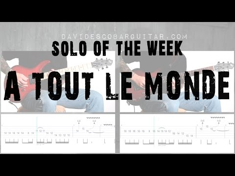 Solo Of The Week: 45 Megadeth - À Tout le Monde
