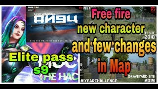 Free fire new character moco trailer | Free fire new elite pass season 9 and new gun and map