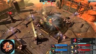 Dawn of War 2: 2v2 Faction Battle Tournament - R1 G1 | Final Push + Osinski [vs] Codex + Dark Riku