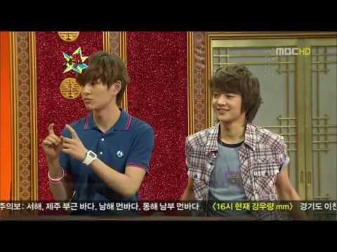 [ENG SUB] SHINee Onew and Minho on Gagshow (GagYa)