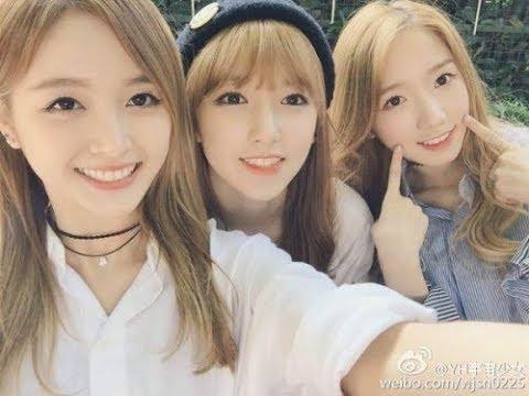 170917  WJSN (우주소녀) ChengXiao, XuanYi, & Mei Qi 爱豆企划社 宇宙少女 1080p