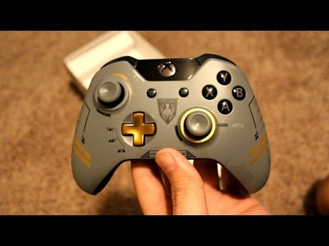 Advanced Warfare Special Edition Controller Unboxing! (Xbox One)