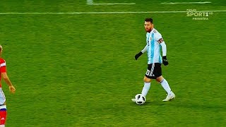 20 Impossible Plays Lionel Messi Did with Argentina ►The One Man Army◄