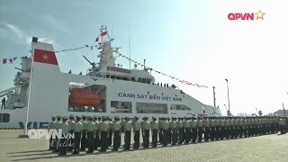 Toàn cảnh: Tàu Cảnh sát biển Việt Nam 8004 thăm Trung quốc