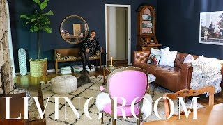 EXTREME LIVING ROOM MAKEOVER -- BEFORE & AFTER