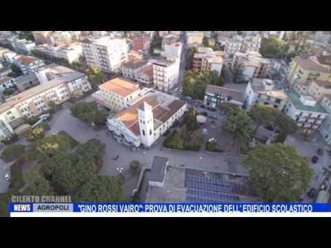 AGROPOLI GINO ROSSI VAIRO PROVA DI EVACUAZIONE DELL EDIFICIO SCOLASTICO