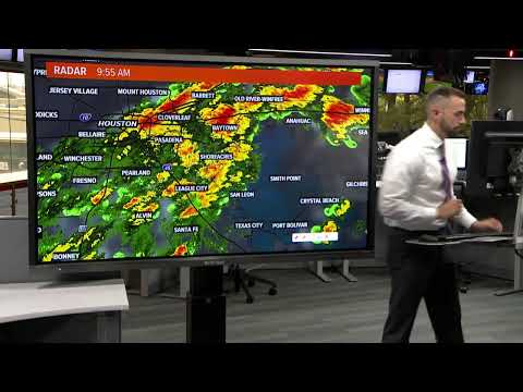 Meteorologist Blake Mathews with Saturday's weather forecast