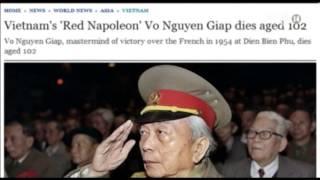 VTC14_Truyền thông quốc tế ngợi ca cố Đại tướng Võ Nguyên Giáp