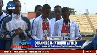 Winners Emerge In Channels U-17 Track & Field Event Pt.1 | Sports This Morning |