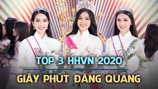 Giây phút đăng quang của TOP 3 HOA HẬU VIỆT NAM 2020