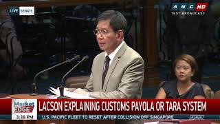 Lacson says Faeldon took P100-M 'pasalubong' at Customs, names major 'tara' recip  part 2