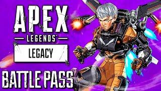 "Apex Legends Legacy ""Season 9"" Reaction & Gameplay (All Battle Pass Rewards)"