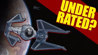 Is the TIE INTERCEPTOR the MOST UNDERRATED Star Wars Ship?