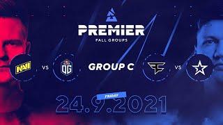 BLAST Premier Fall Groups: NAVI vs. OG, FaZe vs. Complexity | Group C, Day 1
