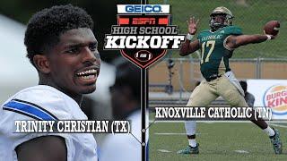 Trinity Christian (TX) vs. Knoxville Catholic (TN) Football - ESPN Broadcast Highlights