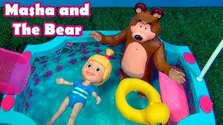 Masha e o Urso - Masha and The Bear in the Swimming Pool -МАША И МЕДВЕДЬ В бассейне #MASHA #TiaCris