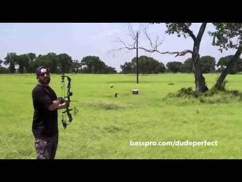 Dude Perfect Recreational Shooting Trick Shots │Bass Pro Shops Fall Hunting Classic 2016