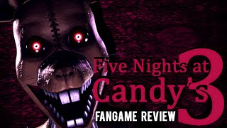 Five Nights at Candy's 3 (FNAC3) - Fangame Review