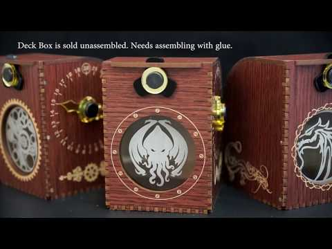 Blackfire Wooden Deck Case - Cthulhu
