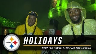 Haunted House: Le'Veon Bell and JuJu Smith-Schuster