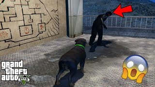 GTA 5 - Chop Saw The MOUNT CHILIAD CREATURE!