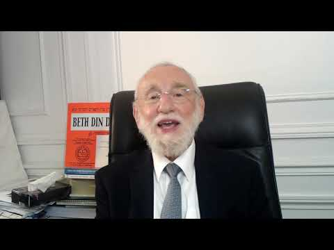 La joie, critère du jugement de Roch Hachana! - 2020 (1ère partie) - Rav Gugenheim