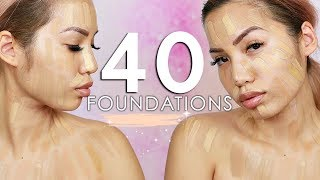COMPARING EVERY FOUNDATION I OWN | Which are actually yellow?