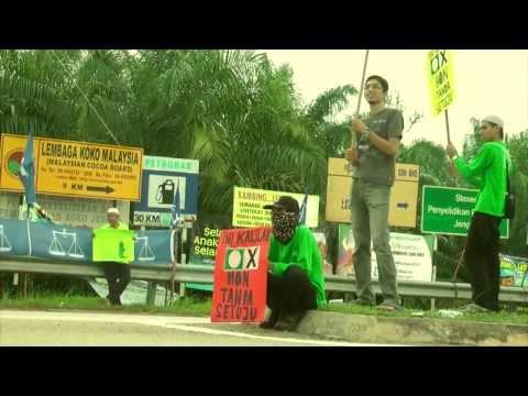 """Flashmob : """"Ini Kalilah !"""" Tol LPT Chenor Maran"""