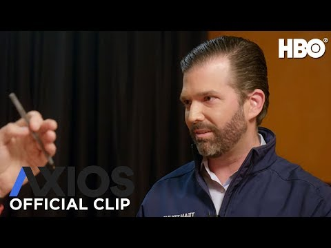 AXIOS on HBO: Donald Trump Jr. on Coronavirus (Season 3 Episode 2 Clip)   HBO