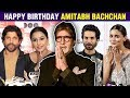 Happy Birthday: Bollywood stars wish Amitabh Bachchan