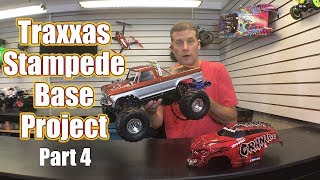 Factory Upgrade Frenzy Part 4! - Traxxas Stampede Base Monster Truck Project | RC Driver