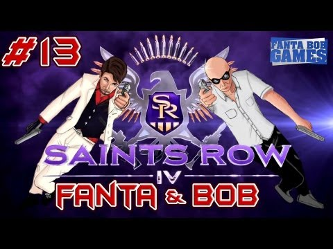 fanta et bob dans saints row 4 - ep. 13