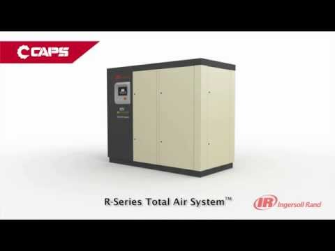 video Ingersoll Rand RS30i-A118-TAS Rotary Screw Air Compressor 184 CFM