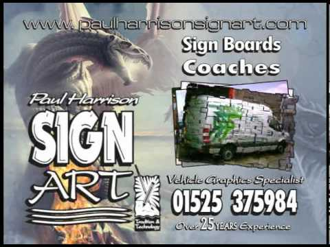 Paul Harrison Sign Art