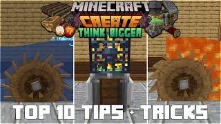 Top 10 Create Mod Tips & Tricks