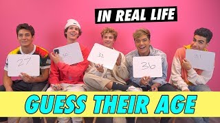In Real Life - Guess Their Age