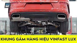 SOI khung gầm TOÀN HÀNG HIỆU trên VinFast Lux A2.0 và SA2.0 |VinFast Lux Chassis|