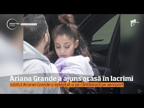 Ariana Grande a ajuns acasă în lacrimi. Turneul european al vedetei a fost anulat