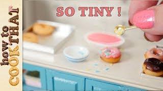 Teeny Weeny Challenge #5 How Small Can I bake Miniature donuts?