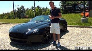 Review: 2007 Aston Martin V8 Vantage Roadster