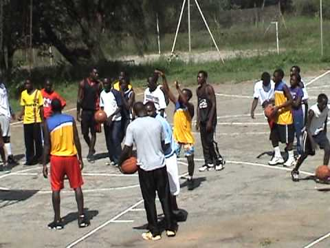 Africa Outreach USA - 2012 Mutare Side Step Shooting Drill.MPG