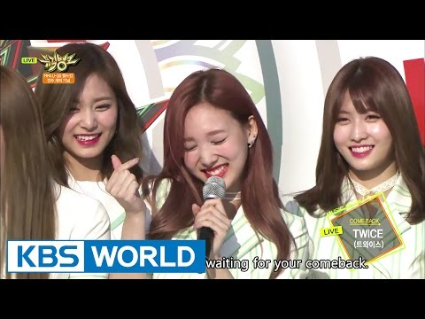 Twice teaches how to dance Signal! Let's learn together!!!!! [Music Bank / 2017.05.19]