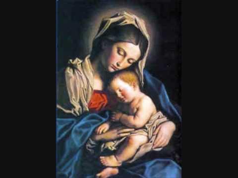 Jesús y Myriam. Dama de azul