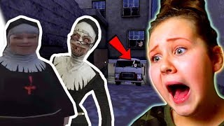 Evil Nun and the Fat Nun are Sisters?!! (Evil Nun New Car Escape Update)